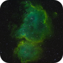 Classical and advanced Hubble-Palette of IC1848,                                Arno Rottal