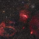 Bubble nebula and friends,                                Victor Van Puyenbroeck