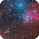 M78, Flame and Horse Head,                                Hytham