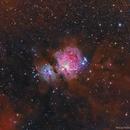 M42 widefield HaRGB,                                Artūras Medvedevas