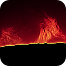 Sun H Alpha Proms on  2021-07-03 @ 10:00 UTC,                                Ruediger