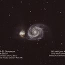 M51 SN2011dh,                                Bob Traube