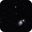 M51 under Bortle 3 skies,                    Uwe Deutermann