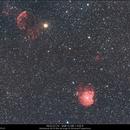 NGC 2174 - NGC2175 - IC443 - SNR G189.1+02.9,                                Gérard Nonnez