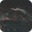 The Veil Nebula - HOO Combination,                                Julien Lana