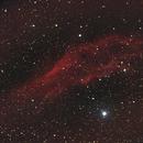California Nebula (NGC1499),                                Mahmange