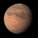 Mars 10 Sep 2018 - Elysium Mons Animation - Sth Up,                                Seb Lukas