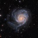M101 Pinwheel Galaxy in Ursa Major,                                Arnaud Peel