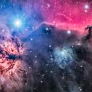 Horsehead Nebula (IC434) Drizzle,                                Miles Zhou