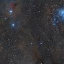 Perseus - California Nebula to M45 (Hybrid 6 Pane Mosaic),                                Paddy Gilliland