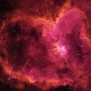 Heart Nebula - SHO,                                Rowland Archer