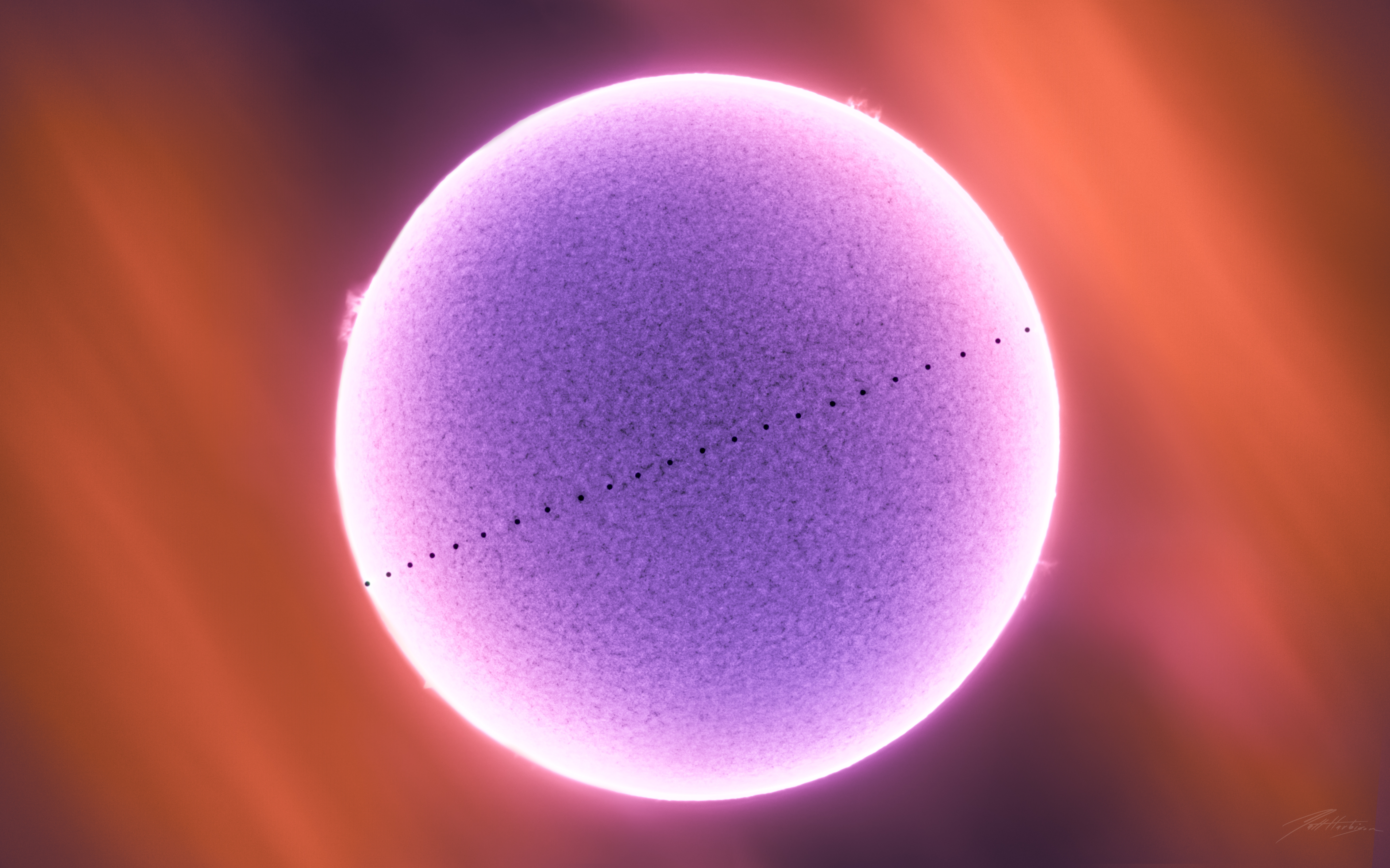 2019 Transit of Mercury,                                Matt Harbison