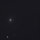 Relativistic Jet from the supermassive black hole in M87 galaxy.,                                  Sergei Sankov