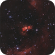 Snow Angel nebula (SH2-106),                                  sky-watcher (johny)