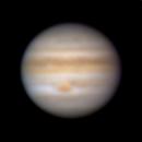 Jupiter on April 10, 2021,                                Chappel Astro