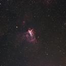 M17, The Omega Nebula, Widefiled,                                doug0013