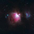 M42 with Running Man nebula,                                MrPhoton