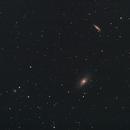 Bodes nebulae – M81 & M82 // 650mm fl,                                Olli67