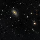 NGC 4725 in the Coma I Group, LRGB, 4 Apr 2020,                                David Dearden