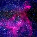 ic1805 nebulosa cuore in cassiopea                                                           distanza 100  A.L.,                                Carlo Colombo