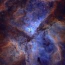 Eta Carina Nebula in SHO,                                Janco