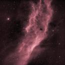 NGC 1499 - California (Ha),                                  Rich Sky