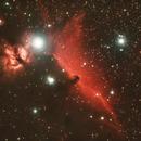 Horsehead nebula,                                Ivana