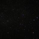 Eta Carène, Pléïades du Sud, NGC 3114 et IC 2391, tels que vus à l'oeil nu,                                PHeinz