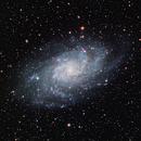 Triangulum Galaxy (M33) - LRGB,                                dswtan