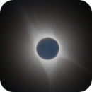 August 21, 2017 Solar Eclipse - Totality With EarthShine,                                mikefulb