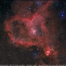 Heart nebula IC1805,                                Leandro Fornaziero