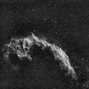 140913 Les dentelles du Cygne NGC-6992 et NGC-6995 - traité par Didier Rediger,                                Obiwan