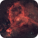 The Heart Nebula ( IC 1805),                                Dom Schepis