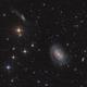 NGC 4725 and neighbors,                                Jenafan