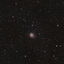M101 Pinwheel Galaxy widefield,                                Kharan