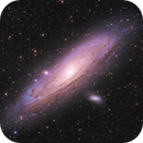 M31 - Andromeda Galaxy,                                Florian @ ClearSkyMarket