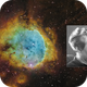 NGC3324 and IC2599 (Gabriela Mistral Nebula) [SHO] (Crop2, with Inset),                                Dean Carr