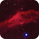 California Nebula - Two Panel Mosaic,                                Jim Matzger