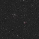 NGC 6946 - 6939 - Evostar 72/360,                                Jean-Noel