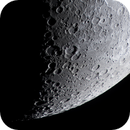 A colour image of the South Eastern Quadrant of the 7 day old Moon,                                Niall MacNeill