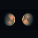 """Mars 10.01.2021,   9,5"""" dia,                                Uwe Meiling"""