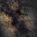Milky Way Center from La Palma,                    Vincent Savioz