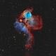 NGC 2467 - Skull and Crossbones Nebula,                                Alan Pham
