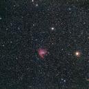 NGC 281 - Pacman Nebula - wide field,                                AC1000