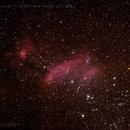 The Prawn Nebula IC 4628,                                Lightbeam