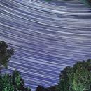 Star Trails - the Milky Way galactic core,                                  Van H. McComas