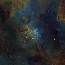 IC1805 in HST palette,                                Gordon Haynes