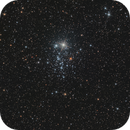 NGC 457 / Caldwell 13 - Owl Cluster in constellation Cassiopeia,                                Falk Schiel