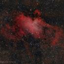 Eagle Nebula - Messier 16,                                Delberson
