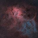 Lion Nebula,                                AstroJoeHSV